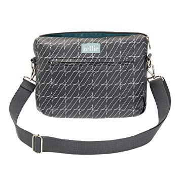 Zellie- Small Pouch Dark Grey Changing Bag