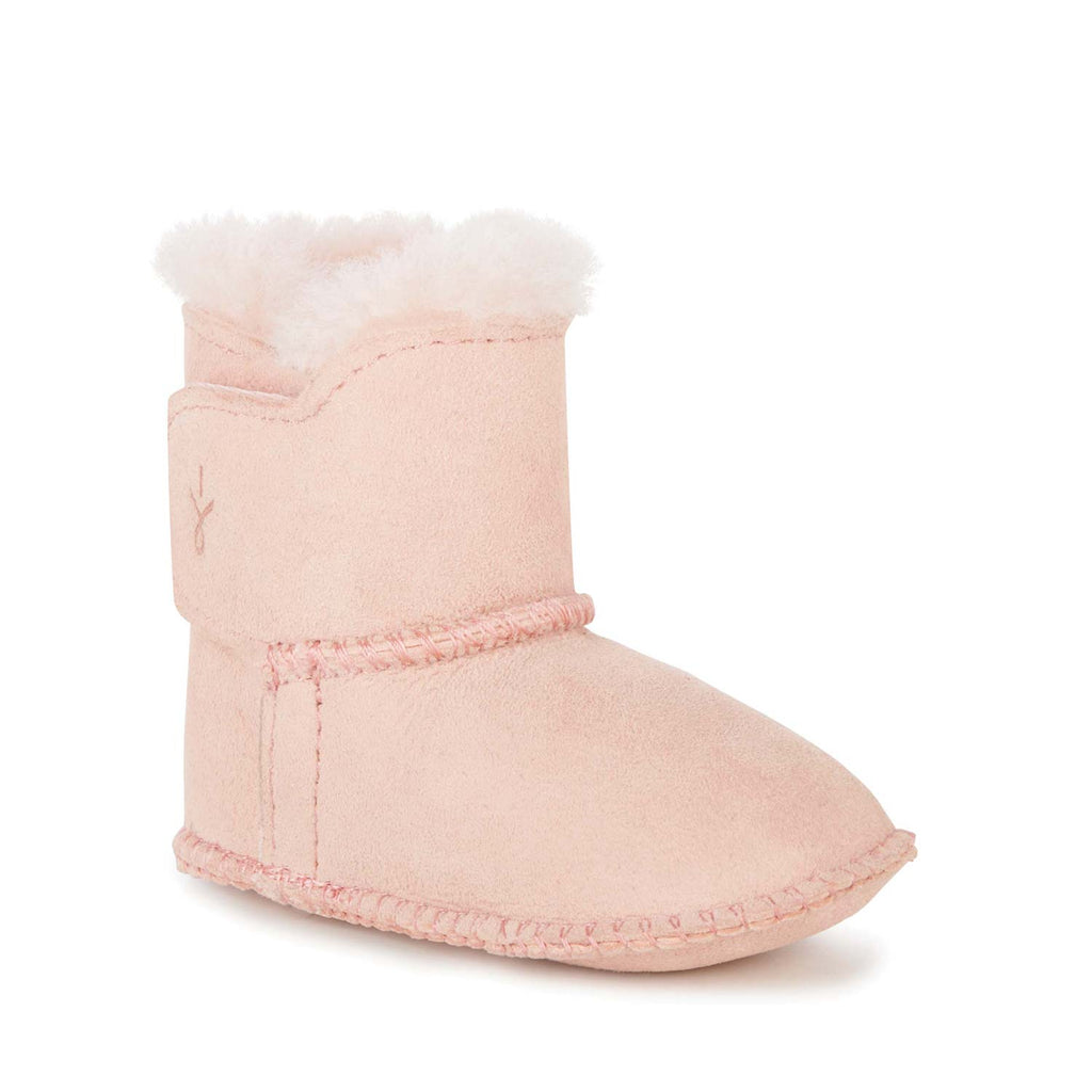 Emu Australia - Baby Booties Dusty Pink