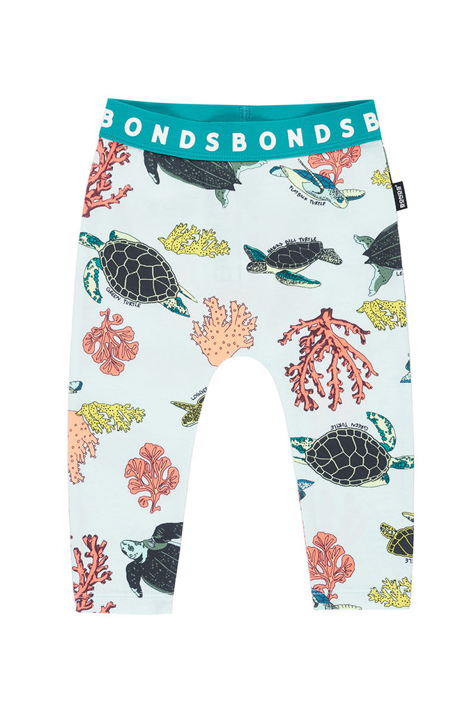 Bonds - Leggings Turtle Reef Blue