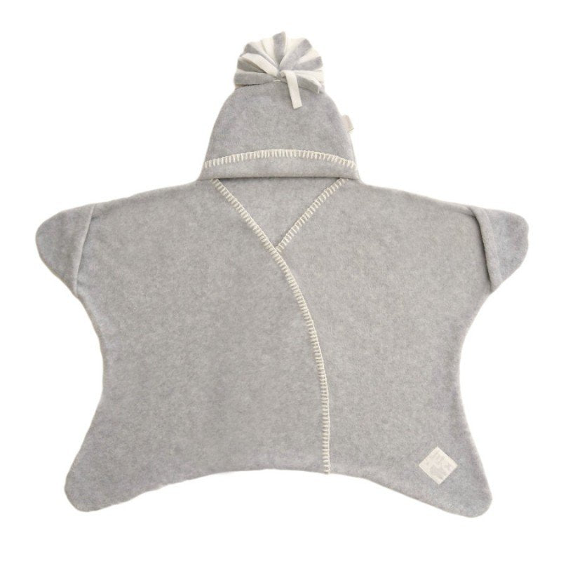 Tuppence & Crumble - Star Wrap Dove Grey