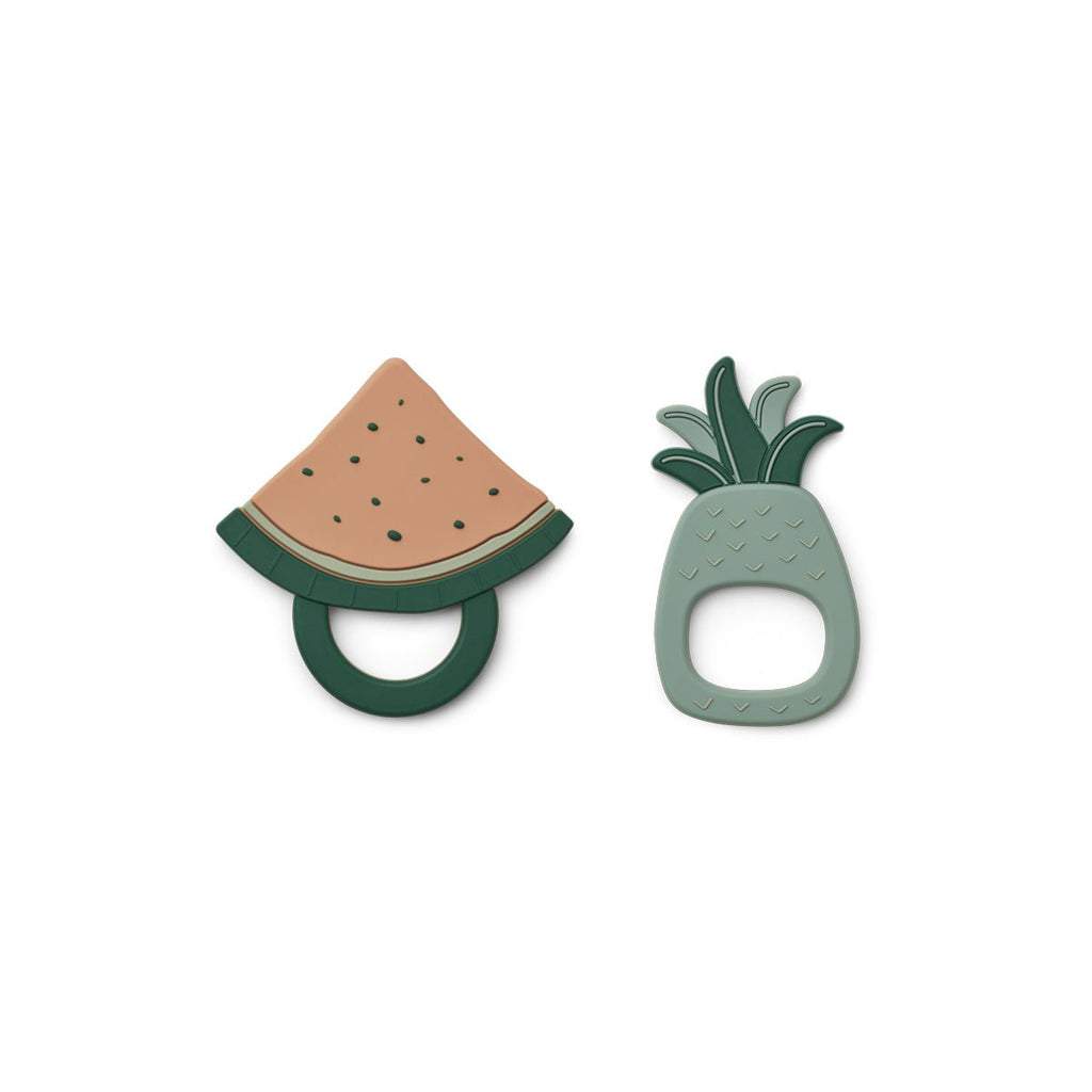 Liewood- Gia Teether 2 Pack Fruit Peppermint mix