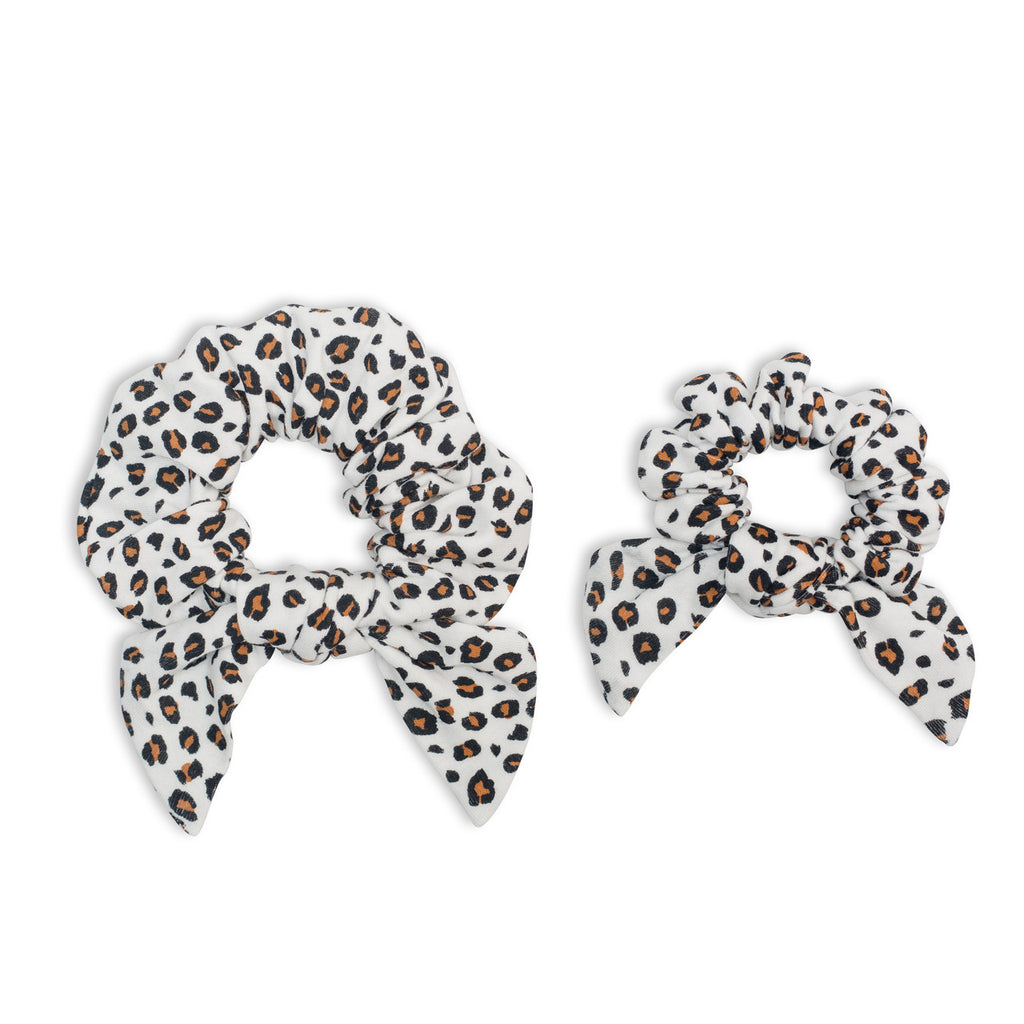 Lulujo - Mommy & Me Scrunchies Leopard