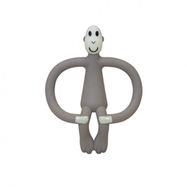Matchstick Monkey Grey Teething Toy - Baby at the Bank