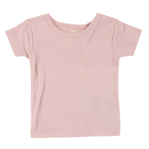 You added <b><u>Pigeon Organics - Pointelle T-shirt Pink</u></b> to your cart.