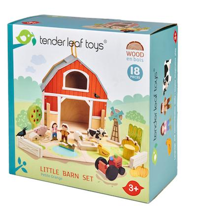 Tender leaf Toys - Little Barn Set