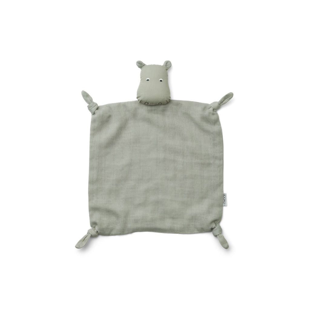 Liewood - Agnete Cuddle Cloth Hippo Blue
