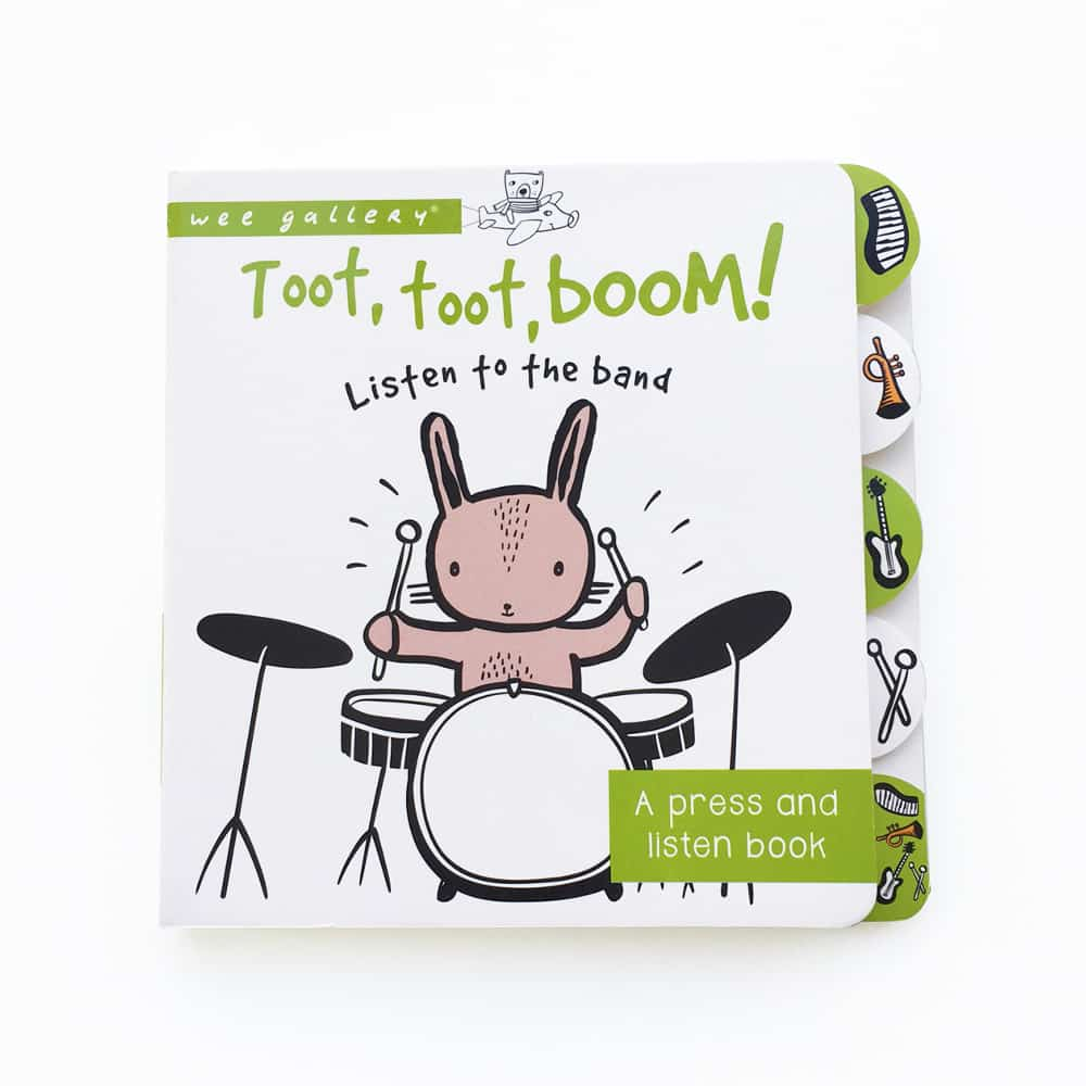 Wee Gallery - Toot Toot Boom Sound Book