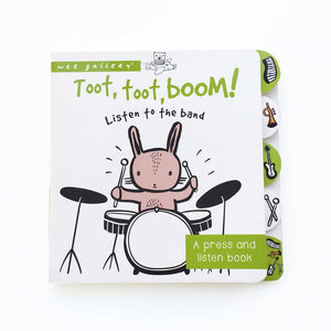 You added <b><u>Wee Gallery - Toot Toot Boom Sound Book</u></b> to your cart.