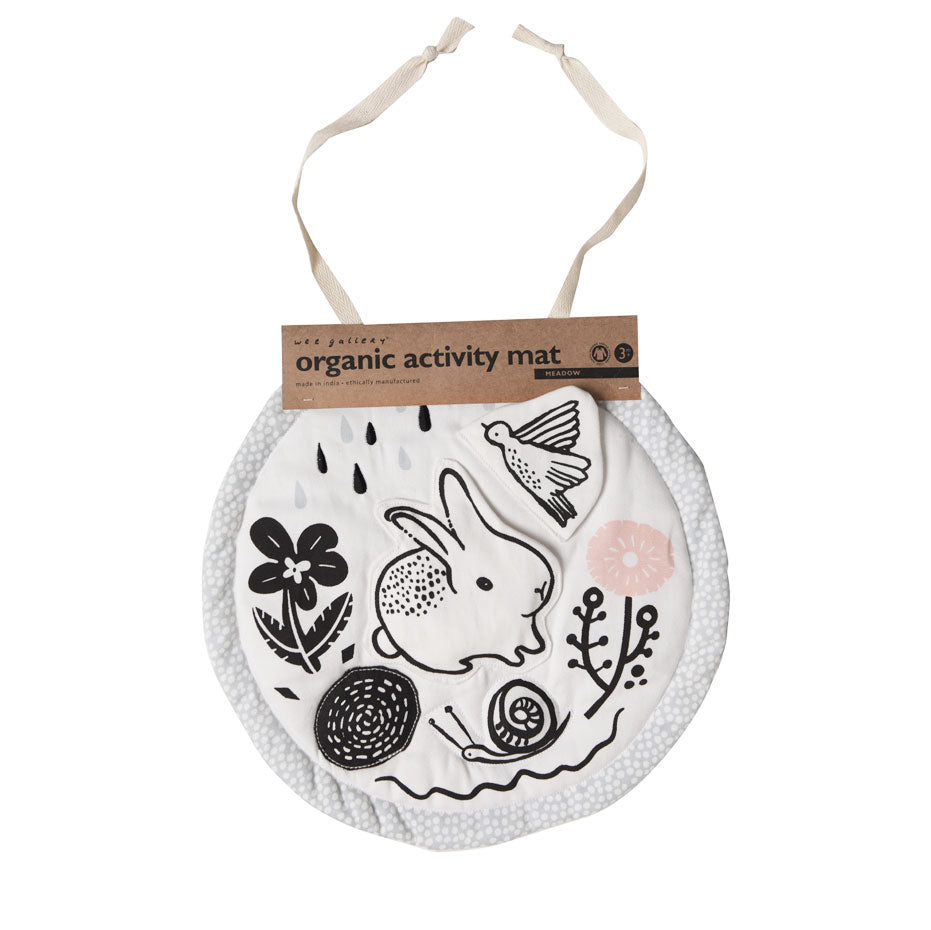 Wee Gallery - Meadow Organic Cotton Activity Mat