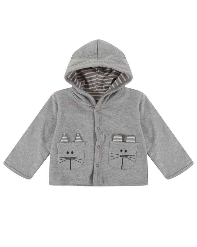 lilly and sid - mouse reversible unsiex jacket - baby at the bank