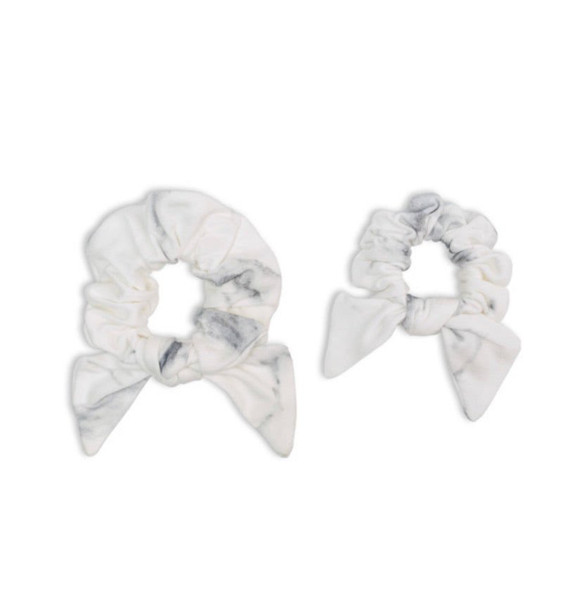 Lulujo - Mommy & Me Scrunchies Marble