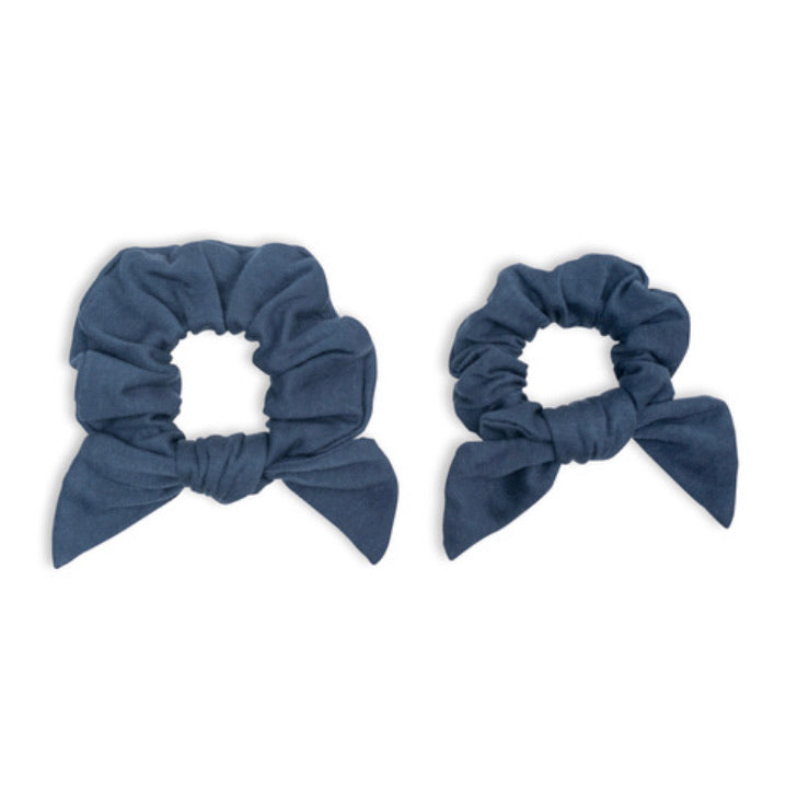 Lulujo - Mommy & Me Scrunchies Navy
