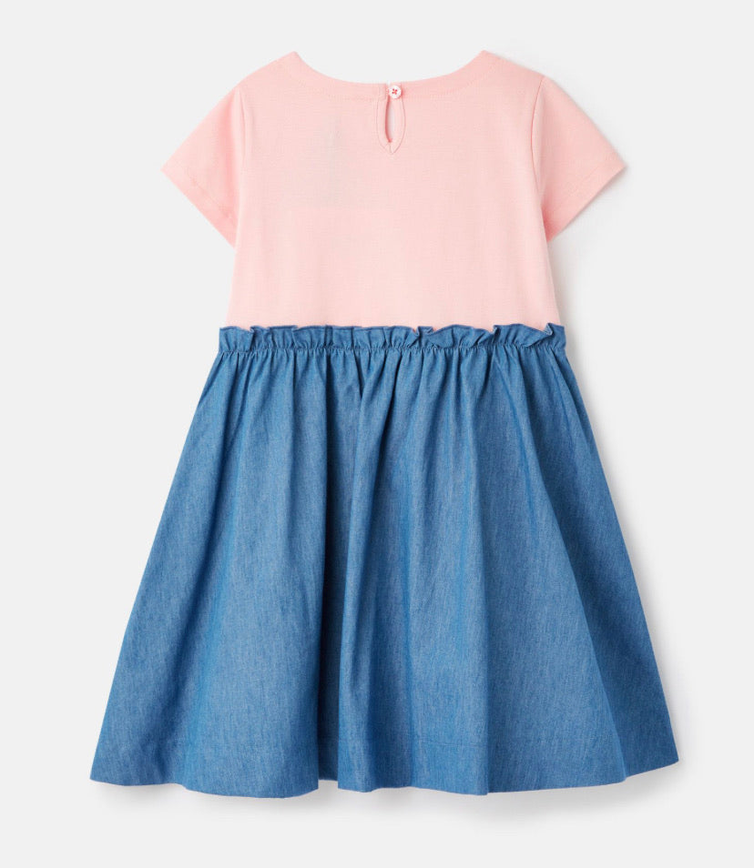 Joules - Paperbag Waist Dress Chambry