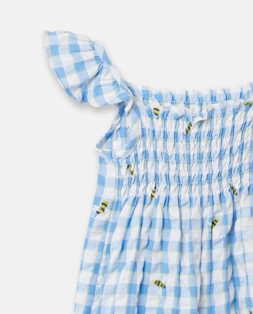Joules - Riverton Playsuit Blue Bees