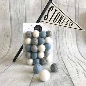 You added <b><u>Stone and Co Felt Garland Dusty Blue, Grey and White</u></b> to your cart.