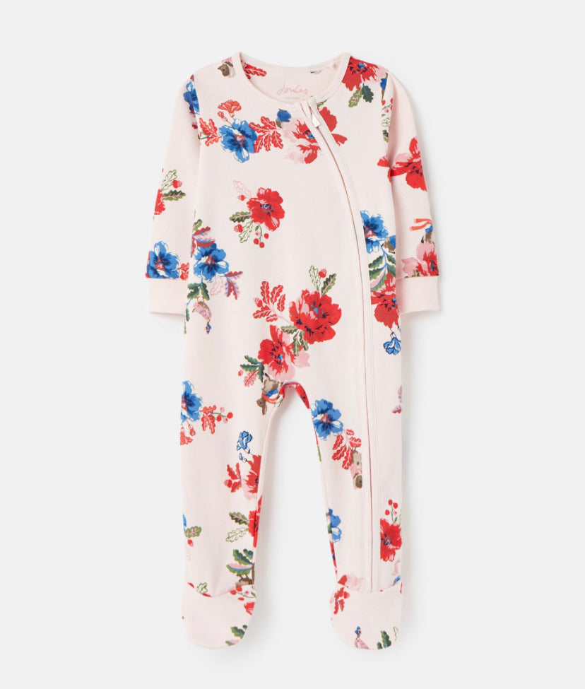 Joules- Peter Rabbit zippy baby grow