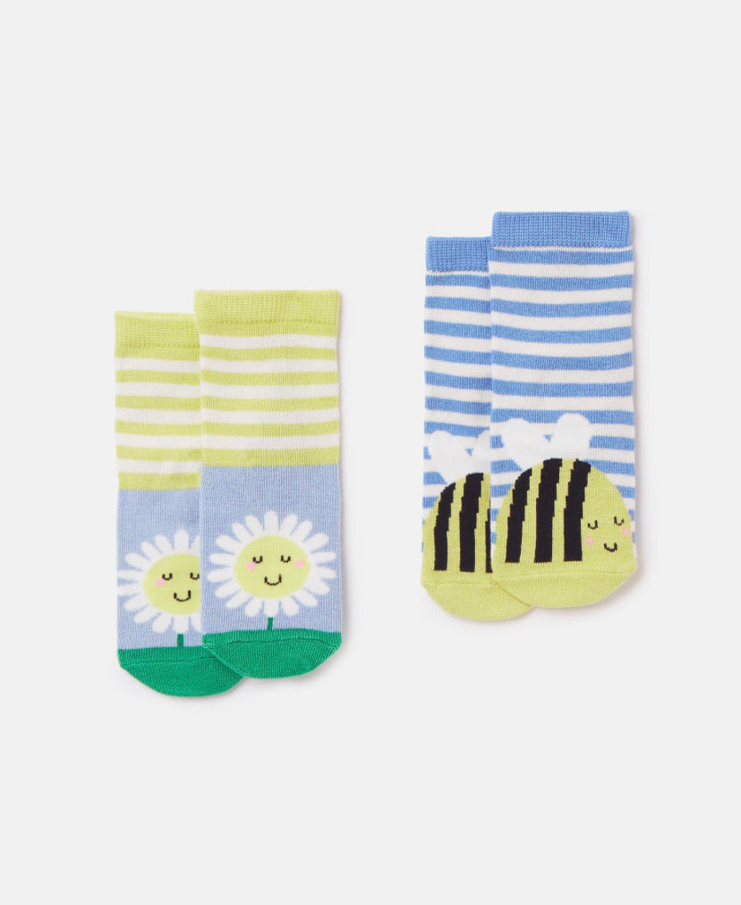 joules neat feet sock bee-baby at the bank