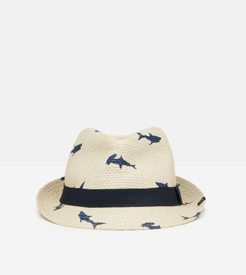 Joules - Straw Shark Hat