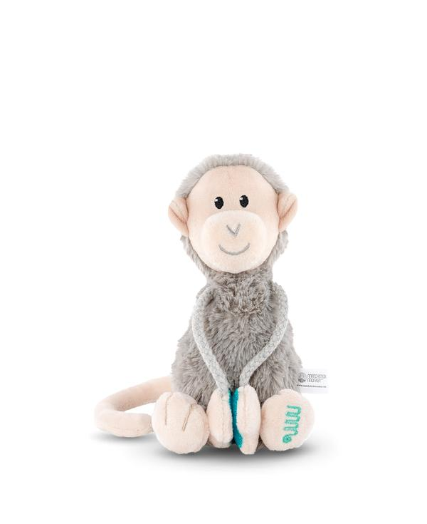 matchstick monkey-plush monkey smallr-baby at the bank