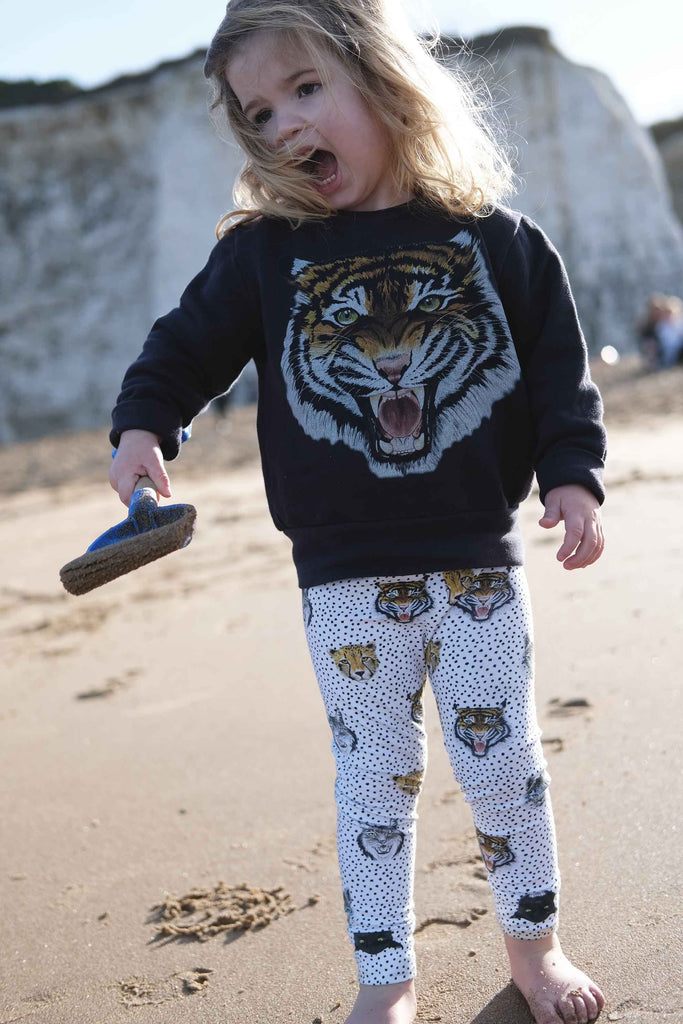 Wild Hearts Wonder - Tiger Roar Sweatshirt - Baby at the Bank