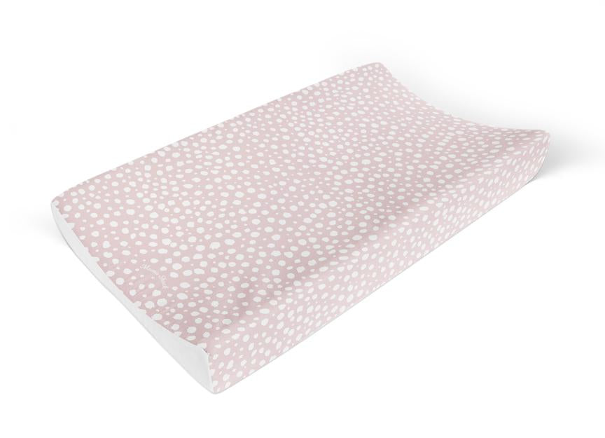 Mama Shack - Anti Slip Changing Mat Pink Spotty
