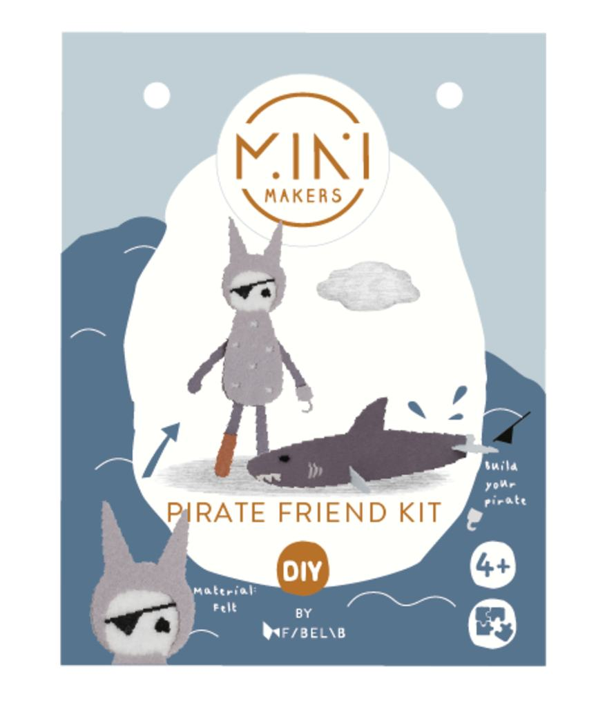 Fabelab - Pirate Friend Kit