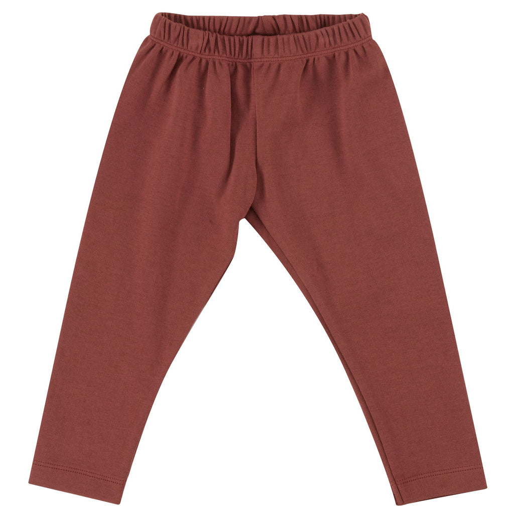 pigeon organics-baby unisex leggings spice-baby at the bank