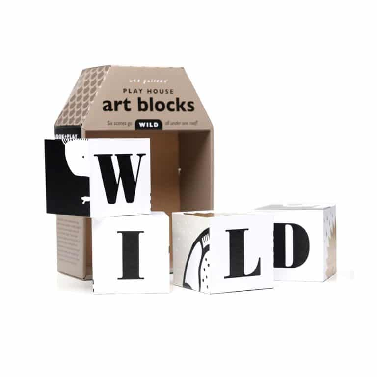 Wee Gallery - Play House Art Blocks - Wild Lion
