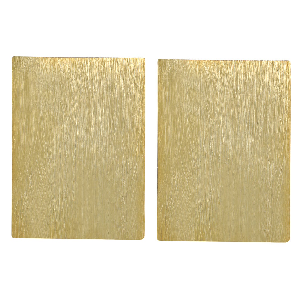 Rectangular Textured Stud
