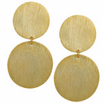 Circular Double Tier Earrings