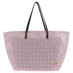 White Disco Solid Tote