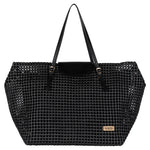 Black Solid Tote