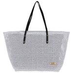 Snow White Solid Tote