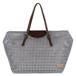 Dark Grey Solid Tote