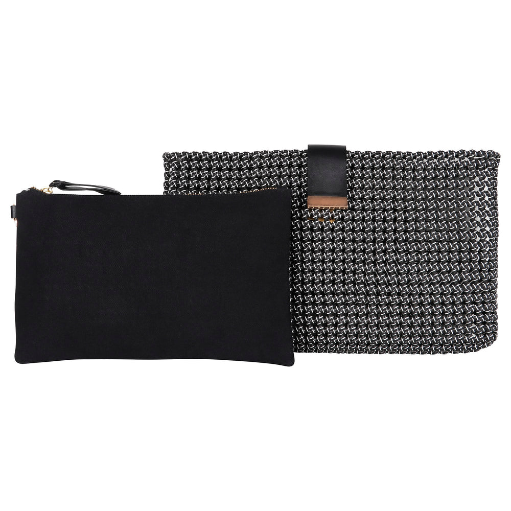 Black & White Disco Clutch