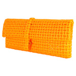 Anka Deep Yellow Clutch
