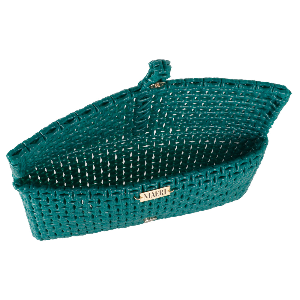 Maeri Green Clutch