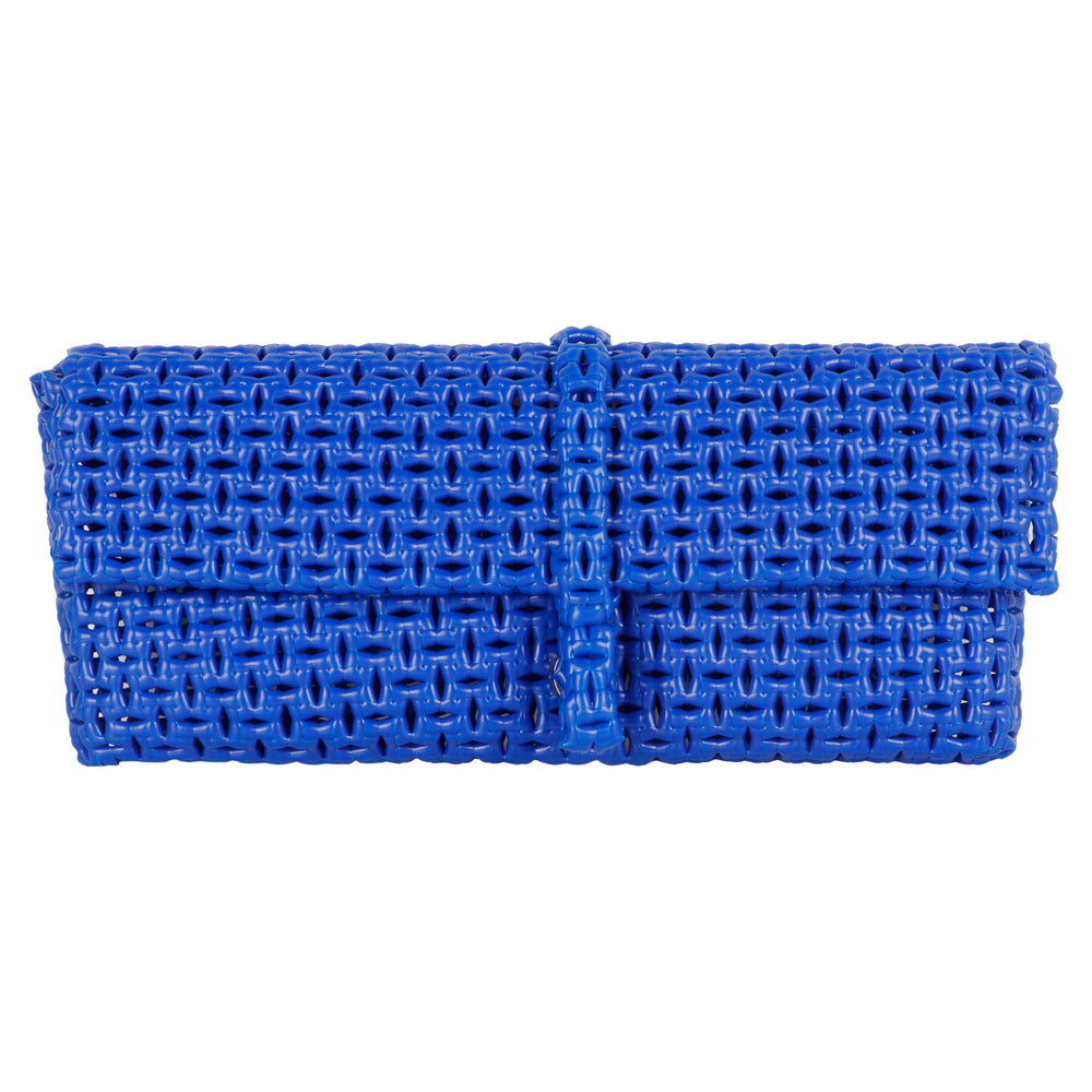Anka Royal Blue Clutch