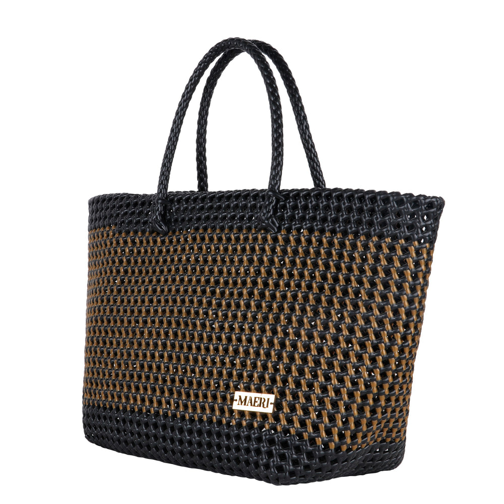 Black & Gold Hand Tote
