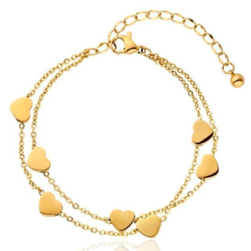GOLD SWEET HEART BRACELET