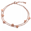 ROSE GOLD SWEET HEART BRACELET