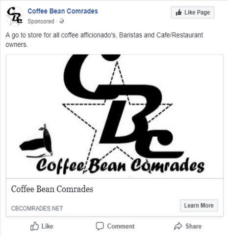 Coffee Bean Comrades Facebook Like Picture