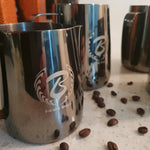 Barista Space Collection 1.0 - Milk Jug Pitchers - Titanium Black-Latte Pitcher-Coffee Bean Comrades