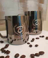 Barista Space Collection 1.0 - Milk Jug Pitchers - Titanium Black - Coffee Bean Comrades