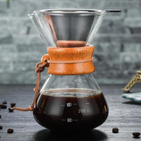 Pour Over Coffee Dripper - 400ml-pour over-Coffee Bean Comrades