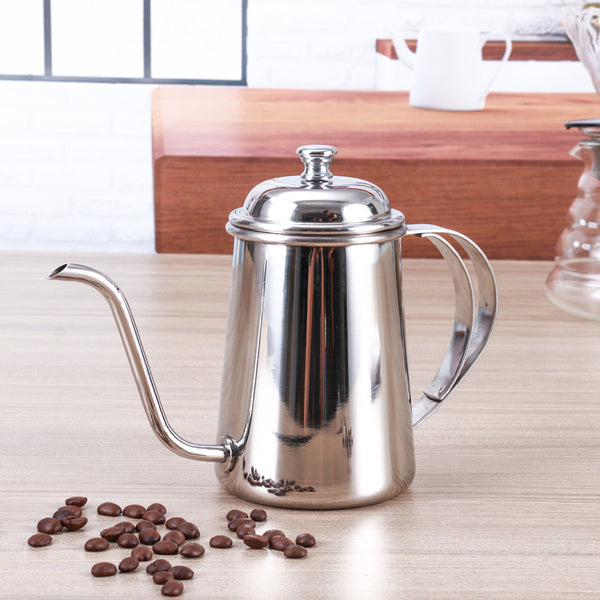 Coffee Tea Kettle Gooseneck Spout 650ml - Coffee Bean Comrades