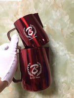 Barista Space Collection 1.0 - Milk Jug Pitchers - Red-Latte Pitcher-Coffee Bean Comrades