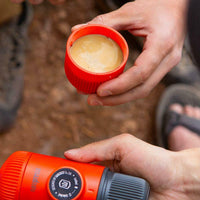 Nanopresso Wacaco Portable Espresso Maker - Orange Patrol-Portable Espresso-Coffee Bean Comrades