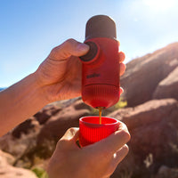 Nanopresso Wacaco Portable Espresso Maker - Red Patrol-Portable Espresso-Coffee Bean Comrades