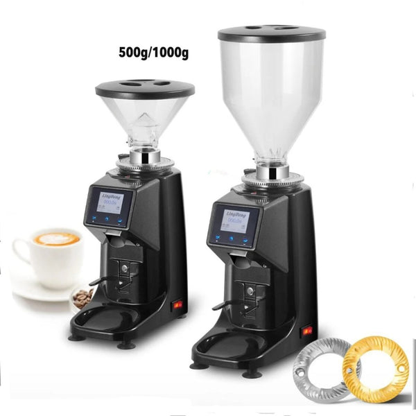 Touch Panel Style Electric Burr Blade Coffee Grinder-Grinder-Coffee Bean Comrades